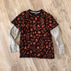 Boys Gymboree Halloween shirt